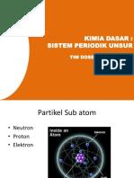 Materi 2 Kimdas Sistem Periodik Unsur