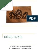 33617300 Heart Block Ppt by Siba