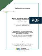MODELO PARA CALCULO DE LIGAÇÃO PILAR VIGA COM CHAPA DE EXTREMIDADE_UN NOVA LISBOA Goncalves_2014.pdf