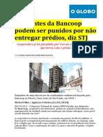 o Globo - Stj Dissolução BANCOOP