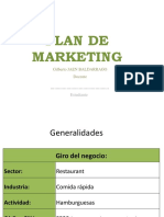 Plan de Marketing 2018
