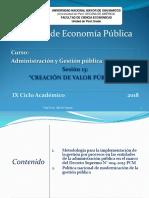 13 Creación de Valor Público