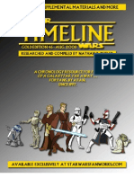 Star Wars - Timeline Gold 46x