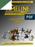Star Wars - Timeline Gold 46x