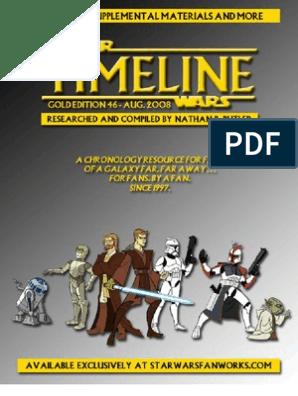 Star Wars - Timeline Gold 46x | Obi Wan Kenobi | Palpatine