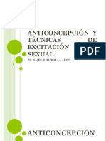 Anticoncepción y Tecnicas de Excitación Sexual