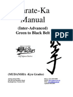 Copy of New of Karate Manual Green to Black