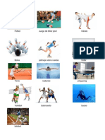 Soccer Futbol Juego de Billar Karate
