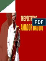 Poetry of Amador Daguio