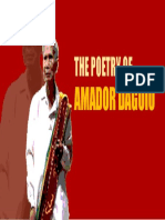 Poetry of Amador Daguio