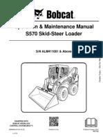 Bobcat S570 | Loader (Equipment) | Elevator