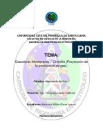 Avanze Gasoducto Monteverde-Chorrillo