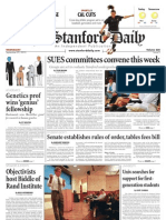 The Stanford Daily, Sept. 29, 2010