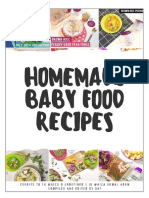 Homemade Baby & Toddler Food Recipes using Beaba credits FB