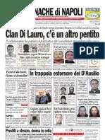 Cronache Di Napoli 27 Marzo 2010