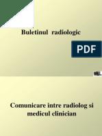 Redactarea Unui Buletin Radiologic
