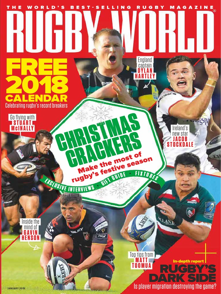 d880a1d9cee8 Rugby World - January 2018 UK