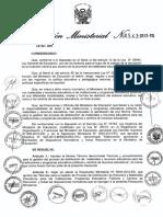 02 - R.M. N° 0543-2013-ED. Distribución de Materiales Educativos.