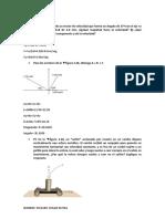 El Componente x de Un Vector de Velocidad Que Forma Un Angulo de 37º Con El Eje