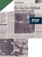 Vigencia de las ideas de Mariátegui, José Antonio Chávez Zevallos