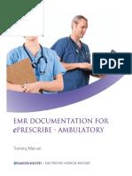 EMR Documentation for EPrescribe Ambulatory 011212