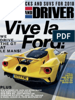 Car and Driver USA February 2018