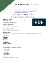 Ficha Tecnica de Ducto