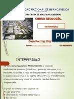 Clase 3 Intemperismo