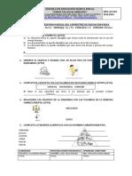 Evaluacion Del Segundo Parcial Del i Qumestre de Educacion Fisica