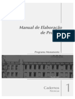 Manual de elaboracao de projetos_IPHAN MONUMENTO.pdf
