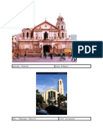 261898336 Famous Filipino Architects and Their Works
