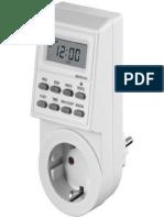 LCD Timer Manual - Manual Temporizador Digital