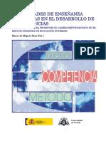 Modalidades Enseñanza Desarrollo Competencias de Miguel