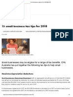 15 Small Business Tax Tips for 2018 _ INTHEBLACK