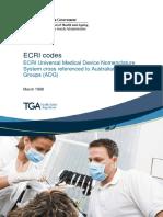 ECRI Codes