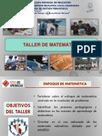Competencias y Capacidades de Matemática 1