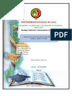 Análisis de La Estructura Poblacional Mundial de América Latina y Ecuador 1