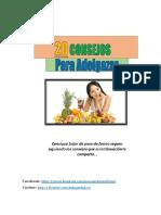 20 Consejos Para Adelgazar