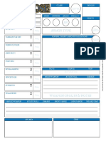 Blue Rose AGE Character Sheet Fillable