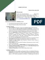 Curriculum Vitae 2018 Jesús Adrían Díaz R
