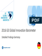 2016 GE Global Innovation Barometer - Germany Summary