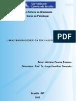 Adriano Pereira Beserra - O Desejo