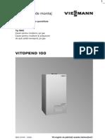 Vitopend 100 WHE Montaj Service