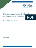 El Nuevo Modelo de Hidrocarburos Mexicano