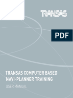 Transas Navi Planner CBT Manual