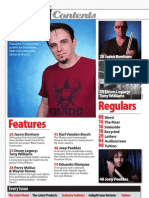 Drummer Magazine Issue 84 Contents