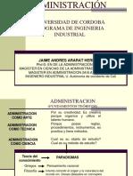 Fundamentos de Una Ciencia Administrativa