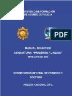 33. Manual de Primeros Auxilios 2016