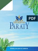 Book Reserva Paraty