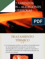 Tratamientos Térmicos – Aleaciones No Ferrosas